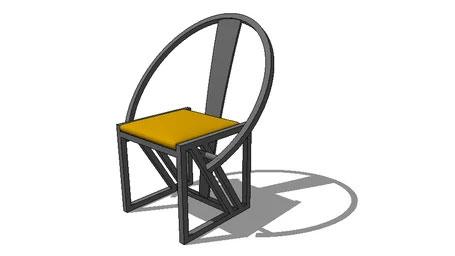 Modern Shanghai dining chair